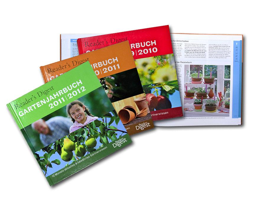 Reader's Digest Gartenjahrbuch