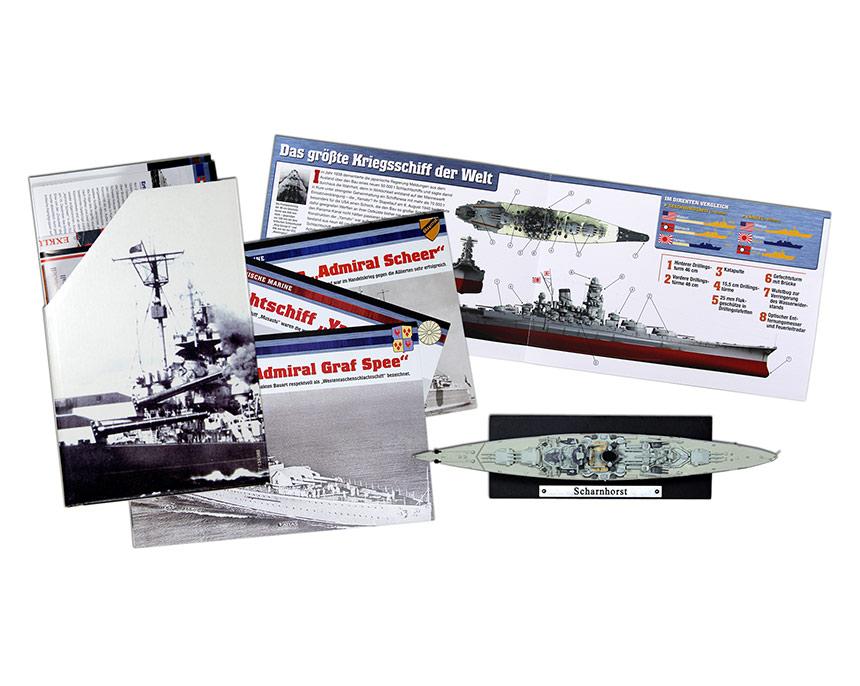 Militärschiff-Collection