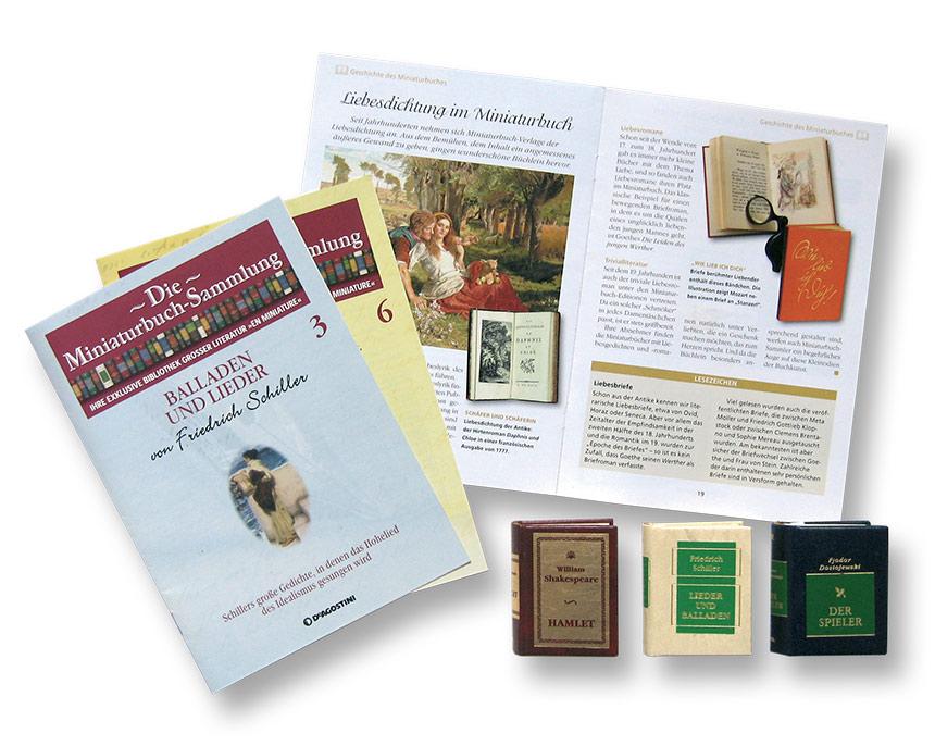 Miniaturbuch-Sammlung